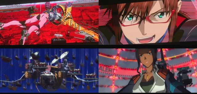 Eva-08, Mari, Wunder, Nagara