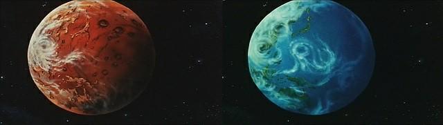 Purificazione del pianeta Terra nel primo film di Yamato