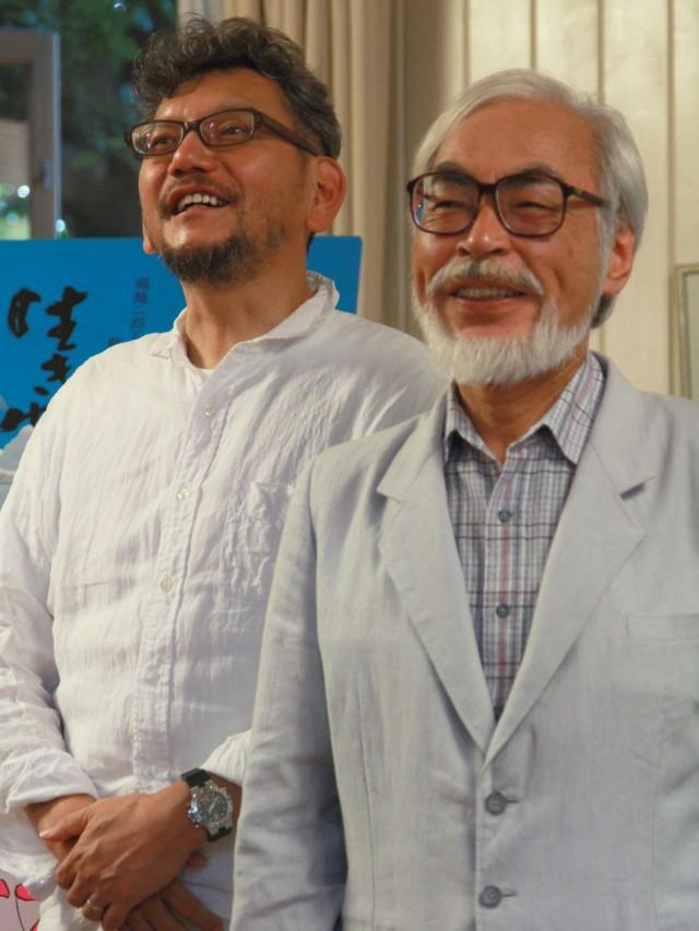 Hayao Miyazaki e Hideaki Anno