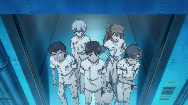 Shinji e amici al centro di ricerca per la salvaguardia marina